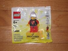 NEW Factory Sealed LEGO Bricktober 2011 Retro Minifigure Magnets Knight 1978