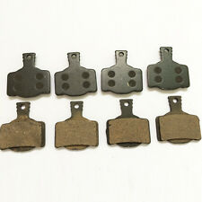 4 Pairs Cycling Semi Metallic Disc Brake Pads for Magura MT2 MT4 MT6 MT8 7.1 7.2