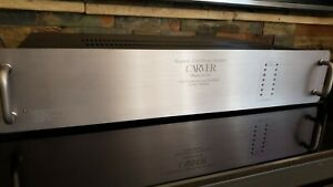 Carver M-1.5t Power Amplifier (SN:13953) New Capacitors - Flawless (375 w/ch)