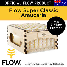 THE OFFICIAL Flow Hive Super Classic Araucaria 7 Beekeeper Honey Frames Tubes
