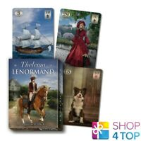 THELEMA LENORMAND ORACLE DECK KARTEN ESOTERISCHES LO SCARABEO NEU