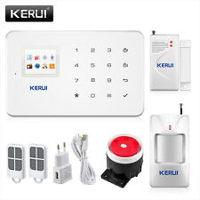Kerui G18 Wireless GSM SMS APP Home Burglar Security Alarm System PIR Detector