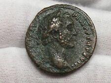 Roman: Antoninus Pius 138-161 AD AE As S-4296 RIC 934 Rev: Britannia Seated. #10