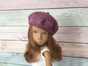 SASHA DOLL wool hand felted seamless beret. FREE US SHIPPING, NO DOLL