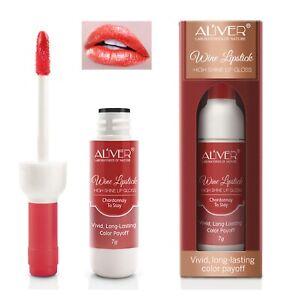 Red Wine Bottle Long Lasting Stain Matte Lip Gloss Tint Liquid Lipstick Lip Tint