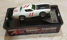 AFX | #11 Dodge Charger | White/Black | Slot Car