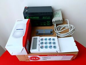 DSC Alarm System with Extra Hikvision PIR Detector and Reed Switch