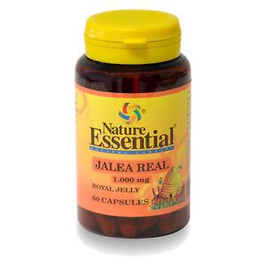 JALEA REAL 1000 mg. 60 Cápsulas - NATURE ESSENTIAL - Royal Yelly