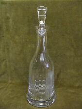 carafe à decanter cristal taillé SEVRES (crystal decanter) h 33cm