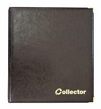 Álbum de monedas negro 300 monedas mezcla Tamaños Libro Carpeta Colector de gran capacidad