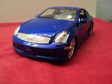 Jada  Infiniti G35  1:24 Scale  2006 release new no box  2006 release candy blue