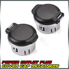 New Dash Power Outlet Cover Set For 2007-2013 Silverado Sierra Tahoe 20983936