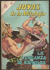 Joyas De La Mitologia Krimilda Nº 12 Comic Spanish Mexican Novaro