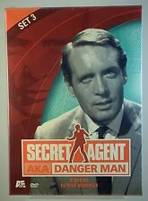 Secret Agent AKA Danger Man - Set 3 (DVD, 2002, 2-Disc Set) - FACTORY SEALED