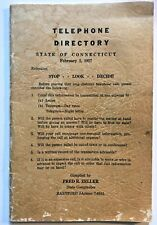 Telephone Directory 1957 STATE OF CONNECTICUT Employees & Departments POLICE etc