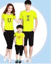 T - Shirt  Family Fashion gift Couple Matching Set Men's Tee Women's Love
