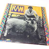 Paul McCartney 'Ram' UK 1st Pressing Vinyl LP EX-/EX Very Nice Copy!!