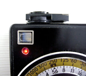Soviet Sverdlovsk 4 light meter exposure meter with leather case!
