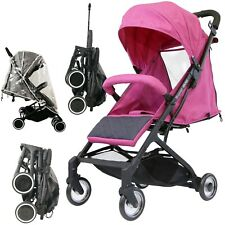 #iSafe Super MiNi Stroller PINK Limited Edition Compact Foldaway Lightweight
