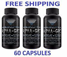 Absonutrix Alpha GPC Xtreme 300 MG Nootropic Improve Brain Performance 3 Pack