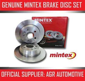 MINTEX REAR BRAKE DISCS MDC562 FOR AUDI COUPE QUATTRO 2.8 1991-96