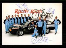 Rudi traite reto Matt autographe carte original signé cyclisme + a 149604