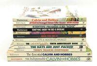 Lot 12 CALVIN AND HOBBES & Hobbs Set BILL WATTERSON BOOKS Comics