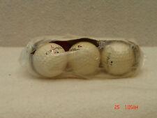 Three (3) Vintage New Wilson K-28 Golf Balls