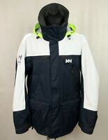 HELLY HANSEN OFFSHORE HELLY TECH PROTECTION SAILING YACHTING MENS JACKET size XL
