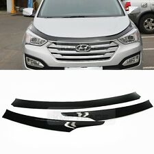 San Front Hood Guard Bug Shield Mollding Cover For HYUNDAI 13-18 Grand Santa Fe