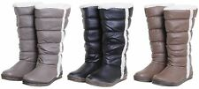 Women's Synthetic Leather Pull on Knee High Boots