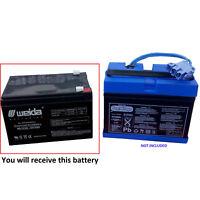 Peg Perego Gator Polaris Gaucho Hummer Battery 12v 12ah UPGRADE Battery!!!!