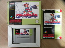 Super Nintendo Game - KID KLOWN IN CRAZY CHASE - Complete SNES FREE Shipping
