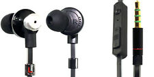 High Performance In-Earbuds Headphones W-Mic Volume Slider Control Tangle-Free