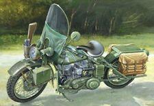 US Army WWII Motorcycle Plastic Kit 1:9 Model 7401 ITALERI