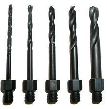 Tight Fit Drill Bit Set Threaded Shank Longs 00132 - New