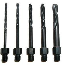 Tight Fit Drill Bit Set Threaded Shank Longs 00132 - New