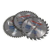 Circular Saw Blades 210mm 30mm Bore 25.4 20 & 16mm rings 24, 40 & 48Teeth BLADES