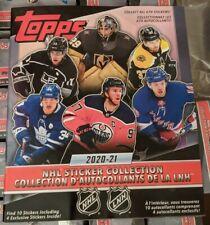 2020-21 Topps NHL Hockey Sticker Album