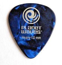 10 x Planet Waves D'addario Classic Blue Celluloid 1mm Guitar Picks Plectrums