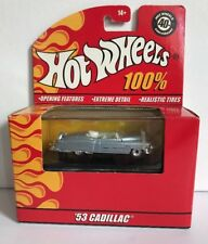 2007 100% Hot Wheels 1953 Cadillac 1/64 New in Package C