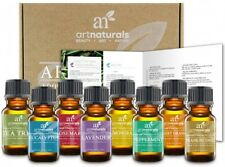 Therapeutic Essential Oils 8 Pack Collection Aromatherapy 100% Pure For Diffuser
