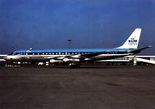 KLM Cargo , DC-8-55F ,  Ansichtskarte