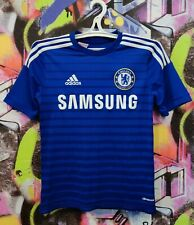 Chelsea London Football Shirt Soccer Jersey Adidas 2014 Youth Size L 13-14 Years