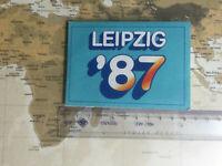 Stadtplan Leipzig in Mini-Format (Sachsen)   ca. 1987