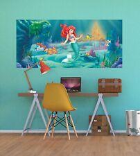 Wandbild Tapete Disney Meerjungfrau Ariel 202x90cm Kinder Fototapete Mädchen