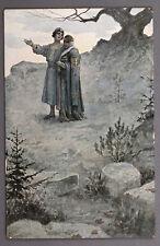 1910s Imperial Russian Artist Solomko Art Antique Postcard Richard edition