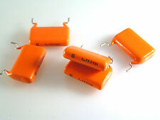Philips MKT368 Metallized Polyester Film Capacitors 1uf K 250V 5 pieces OL0533