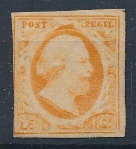 [8776] Nederland 1852 RARE stamp very fine MH value $1250