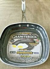 New listing Grante Rock 9.5 Inch Titanium Fry Pan No Oil Or Butter Needed.